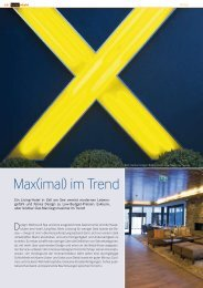 Max(imal) im Trend - Hotelstyle