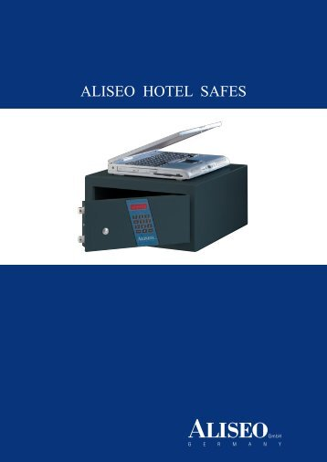 ALISEO HOTEL SAFES - Aliseo GmbH Germany