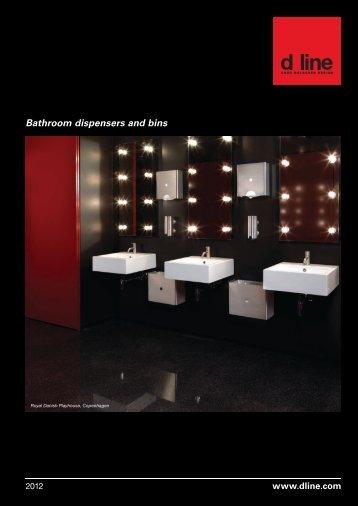 Bathroom dispensers and bins - Ironmonger