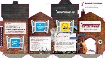 Hotel Hamburg Hostel Das Hausprospekt als ... - Superbude