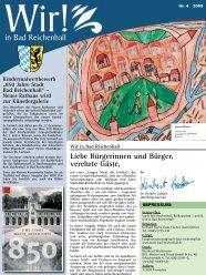 Ausgabe Oktober 2009 - Stadt Bad Reichenhall