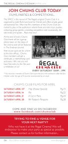 box office open daily from 10am - 8pm - The Regal Cinema Evesham - Page 6