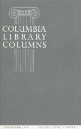 Ronald Firbank - Columbia University