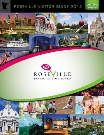 roseville visitor guide 2012 - Roseville Visitors Association