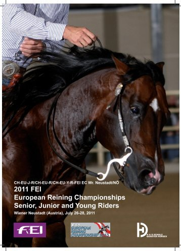 2011 FEI European Reining Championships Senior, Junior and ...