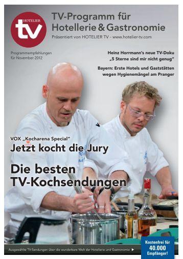 HOTEL TV PROGRAMM - November 2012
