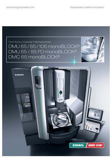 DMU 65 / 85 / 105 monoBLOCK® DMU 65 / 85 FD monoBLOCK ...