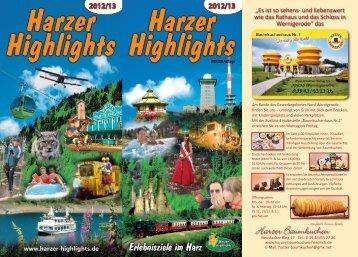 PDF Download Harzer Highlights Katalog 2012/13 - bei den Harzer ...