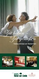 Zeit genießen - Wellings Romantik Hotel zur Linde, Moers