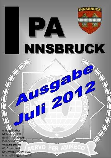 Ausgabe 1/12 - IPA Tirol