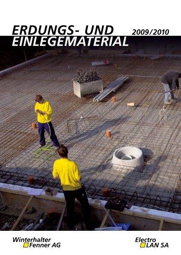 ERDUNGS- UND 2009/2010 EINLEGEMATERIAL