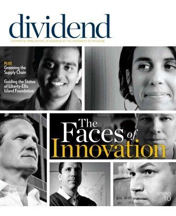 DIvIDEnD - Stephen M. Ross School of Business - University of ...