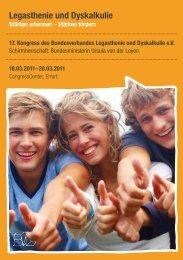Programmheft als Download - Bundesverband Legasthenie e.V.