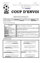 CPE N° 40 10.11 - FSGT 92