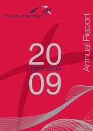 Annual Report - French Chamber of Commerce and Industry in ...