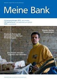 Mitgliedermagazin 1/2012 - Raiffeisenbank Oldenburg eG