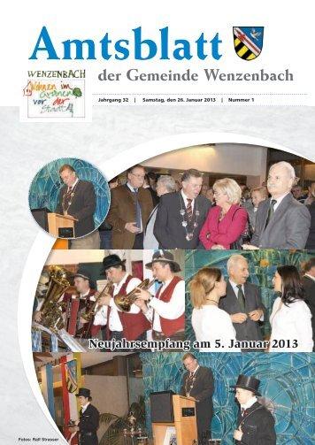 Amtsblatt der Gemeinde Wenzenbach - Landkreis Regensburg