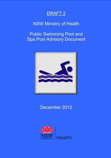 Public Swimming Pool and Spa Pool Advisory ... - NSW Health