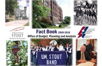 2009-2010 - University of Wisconsin-Stout