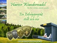 Die Harzer Wandernadel