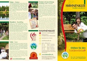 Erleben Sie - RAMADA Hotel Vier Jahreszeiten Hahnenklee im Harz