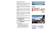 Weisse Wochen - Pellas Hotel Restaurant