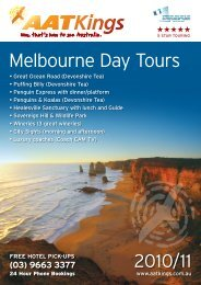 Melbourne Day Tours