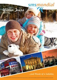 Winter Tours - Orange Travel Group