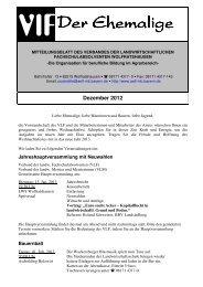 VLF-Blatt Wolfratshausen Dezember 2012 - Amt für Ernährung ...