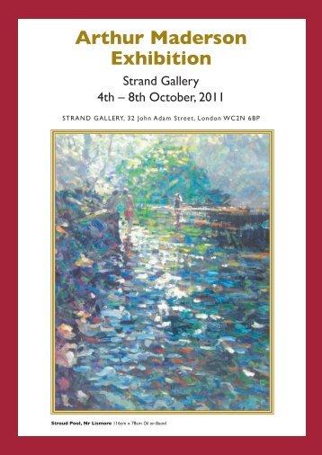 Arthur Maderson Exhibition - Solo Arte Art Gallery