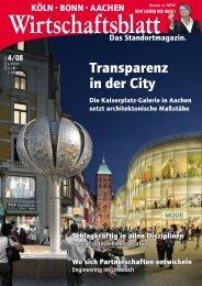 Transparenz in der city
