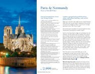 Paris & Normandy $2,999 - Uniworld Boutique River Cruises