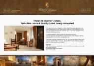 Hotel De Charme - Hôtel d'Aragon