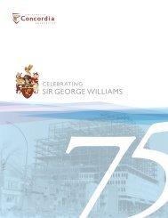 Sir george WilliamS - Concordia University