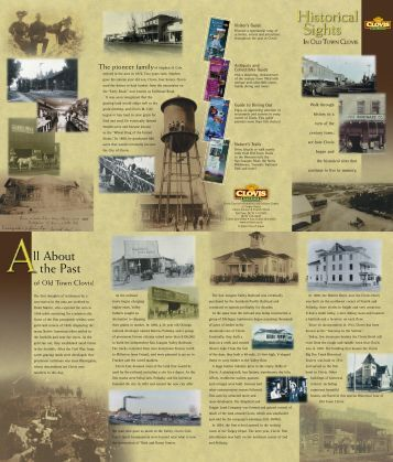 Guide to Historical Sites - Visit Clovis