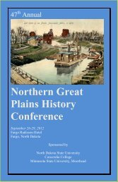 Northern Great Plains History Conference