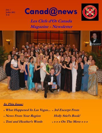 Canad@news - Clefs d'Or Canada