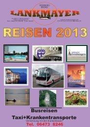reiseprogramm 2013