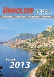 Katalog als pdf-Datei öffnen - Unholzer-Reisen