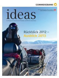ideas - Schweiz - Commerzbank AG