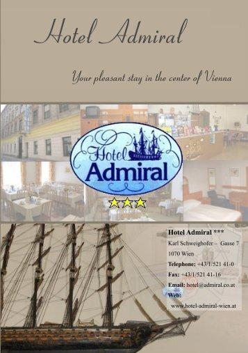 Hotel Admiral Wien