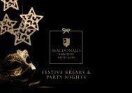 Festive Breaks & PARTY NIGHTS - Macdonald