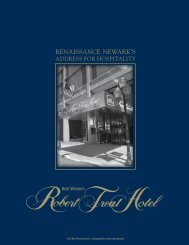 RENAISSANCE NEWARK'S - Robert Treat Hotel