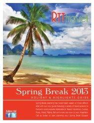 Spring Break 2013 Book.ai - RTT Travel