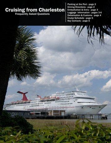 Cruising from Charleston - Port of Charleston