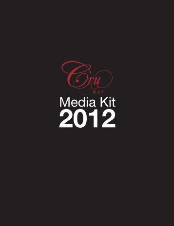 Media Kit - Cru Magazine