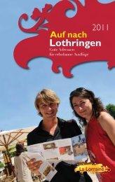 Lothringen - Tourisme en Lorraine