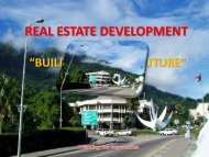 REAL ESTATE DEVELOPMENT - Seychelles Investment Forum
