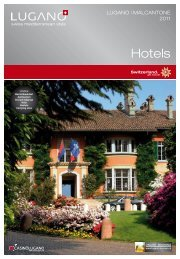 Hotels - Lugano Turismo