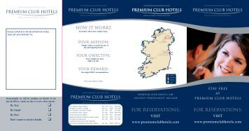 Download Premium Club Registration Form - Grand Canal Hotel
